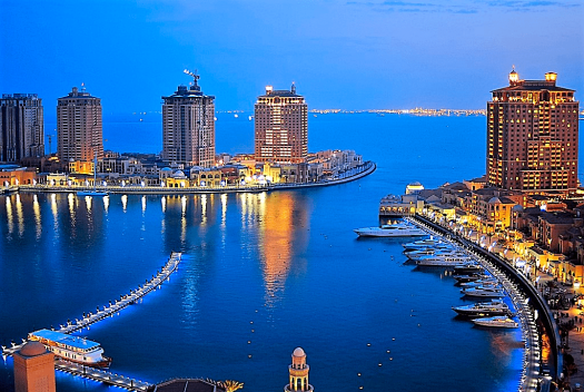 Qatar_Dusk_at_the_Pearl_Qatar_Credit_Steven_Byles