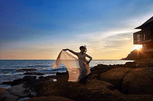 Malaysian-dance-performance-at-The Ritz-Carlton-langkawi-hotel