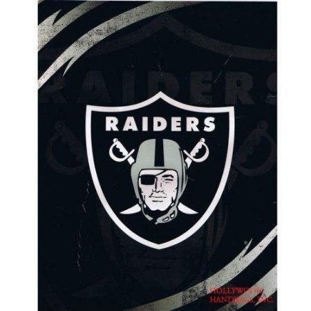 Raiders-queen mink-blanket