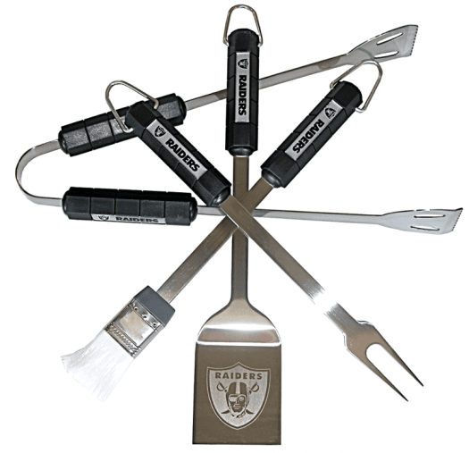 Raiders-bbq-set