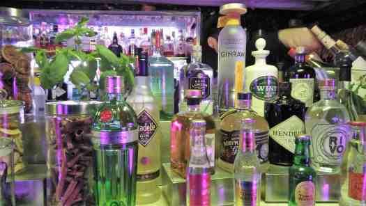 image-of-craft-gins-at-hong-kong-cocktail-lounge