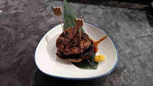 image-of-Portobello Grilled Foie Gras-フォアグラ バゲット-鵝肝大黑菇
