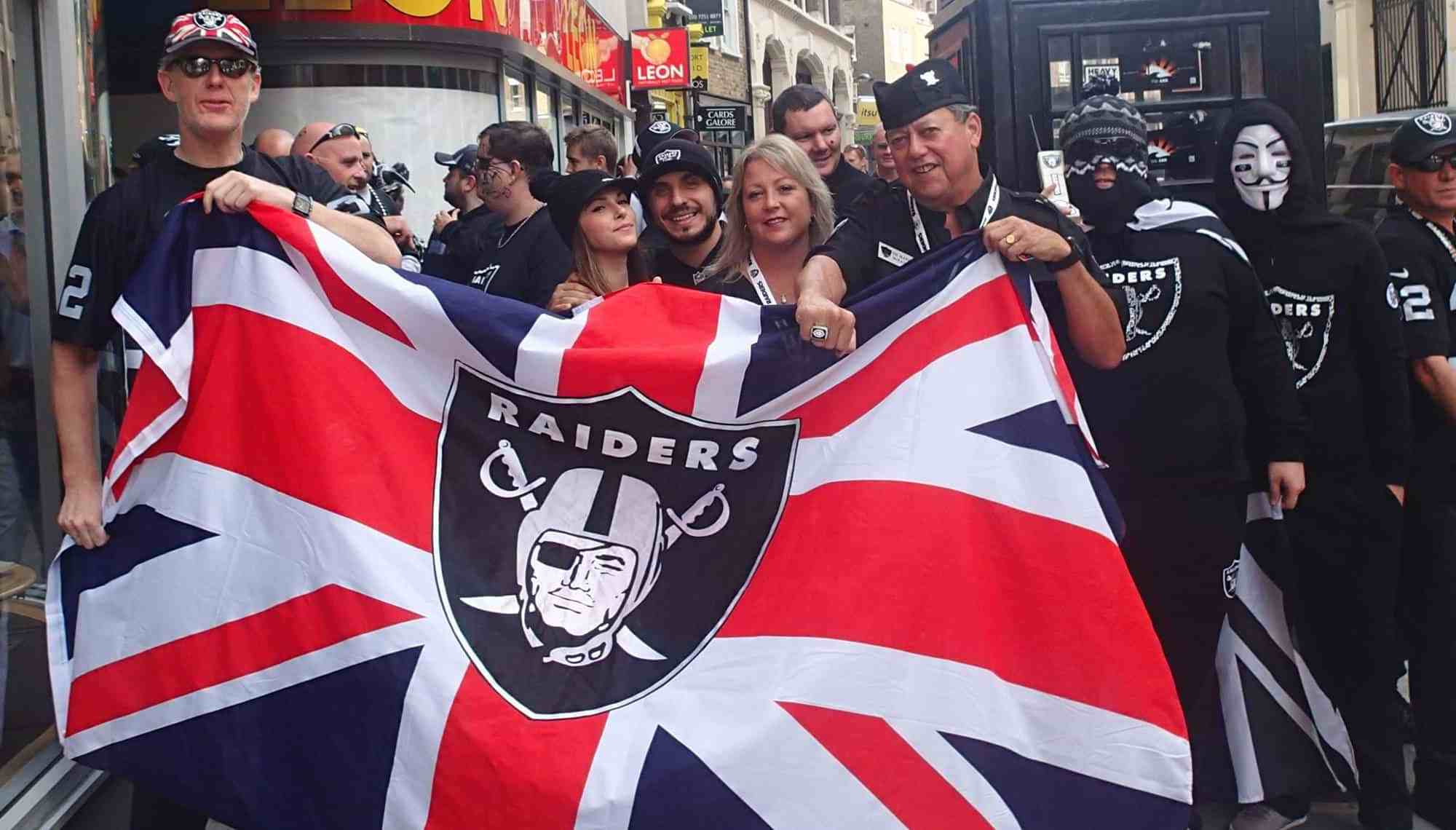 new styles f033d d2ffb An Oakland Raider Fan's Travel Guide to London - Accidental ...