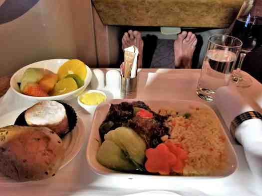 in-flight-meal-service