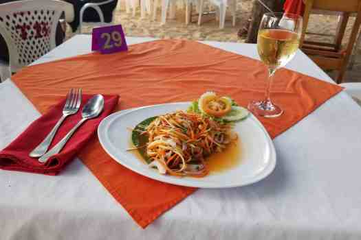 thai-style-green-papaya-salad-and-charonnay