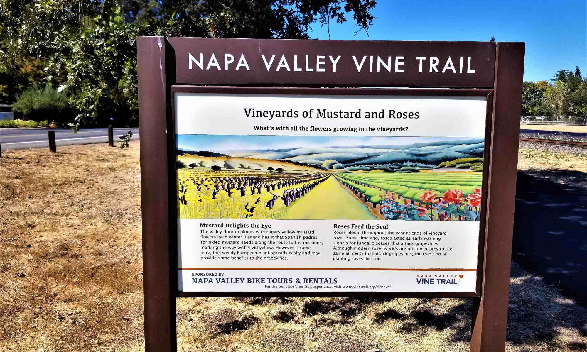image-of-napa-valley-vine-trail-signage