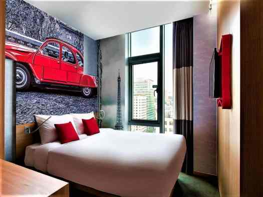 hotel rooms at travelodge dongdaemun in seoul korea have windows with city views