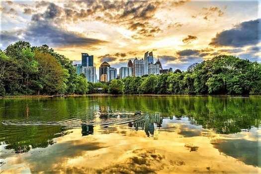 Lake-Clara-Meer-in-Atlanta