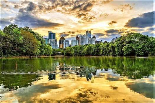 Lake-Clara-Meer-in-Atlanta