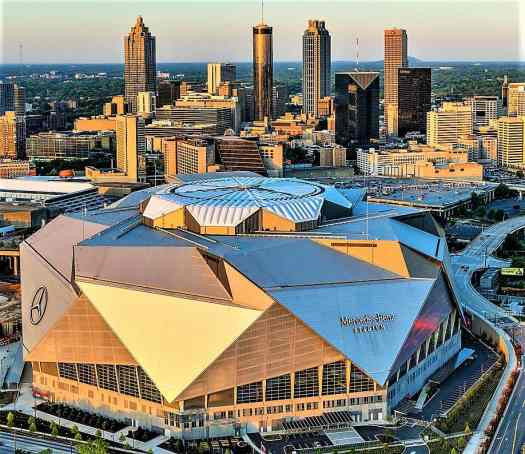Mercedes-Benz Stadium © 2018, Gene Phillips, Courtesy of ACVB & AtlantaPhotos.com.