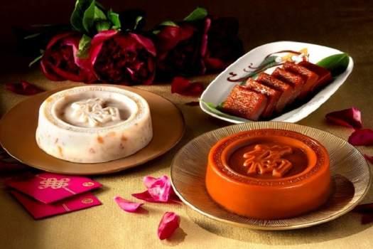 Chinese New Year Pudding from Dynasty Restaurant at Hong Kong Renaissance Hotel