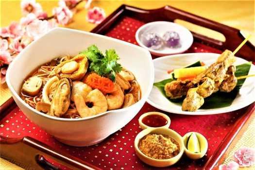 chinese new year thai set menu