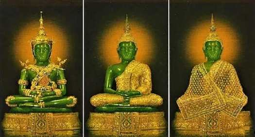 emerald-buddha-robes-for-summer-rainy-season-and-winter