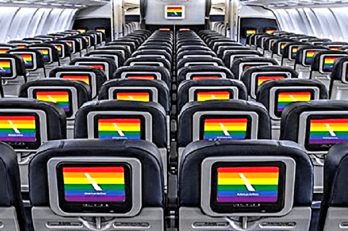 rainbow-flags-on-screens-of-airline-seats