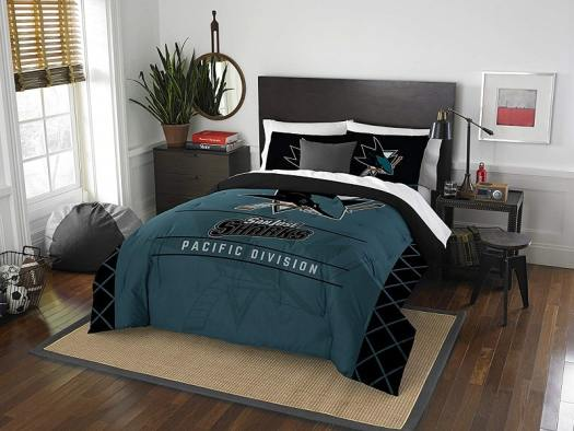 nhl-san-jose-sharks-bedroom-set