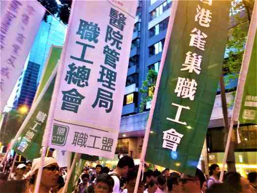 labour-unionists-marching-in-hong-kong