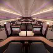 aviation-qatar-Qsuite - Cabin overview
