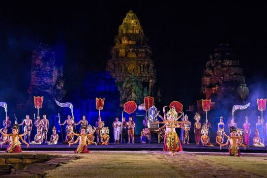 thailand-november-events-phimai-cultural-performance