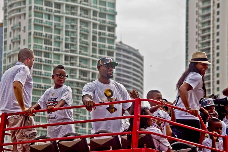 Miami-Head-LeBron-James-at-2012-championship parade