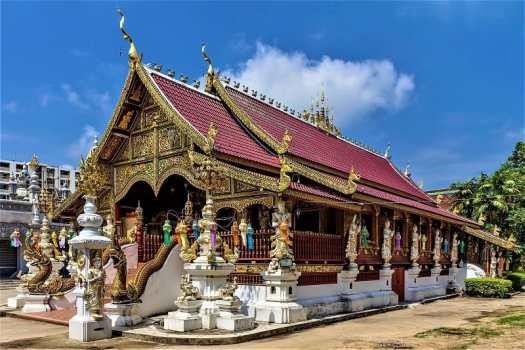 Ming-Mueang Temple-Chiang-Rai-Thailand