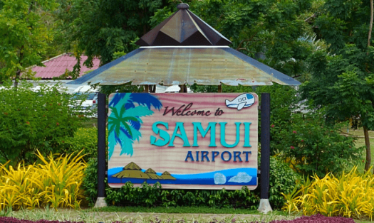 samui-airport-welcome-sign