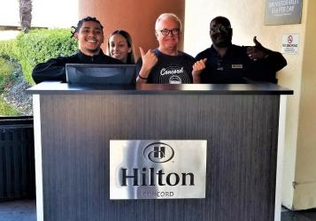 70days concord hotel hilton peeps (18)
