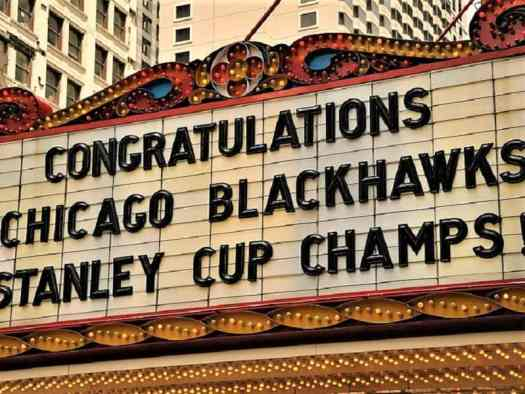 theatre-marquee-celebrates-chicago-blackhawks-stanley-cup-championship