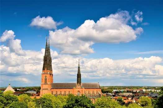 uppsala-cathedral-in=uppsala-sweden