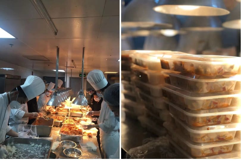 staff-preparing-[meals-for-medical-workers-in-shangri-la-wuhan-china