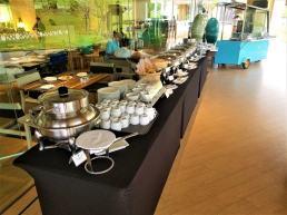 Breakfast buffet. Photo Credit: Accidental Travel Writer.