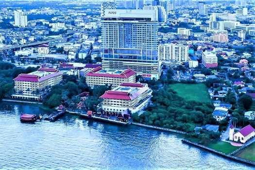 avani-bangkok-riverside-aerial-view