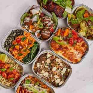 Ready-made meals at Rosewood Bangkok