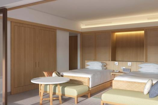 Belitung-Sheraton-Resort-twin-bed-guest-room