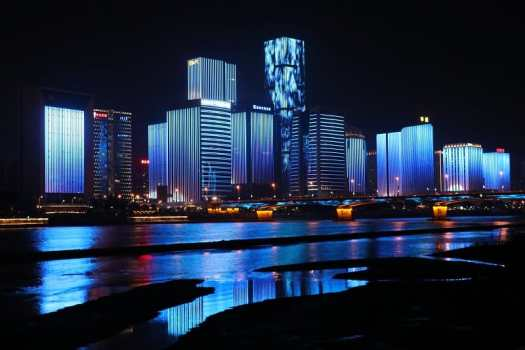 fuzhou-skyline-at-night