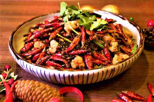chicken-cartilage-tossed-in-dried-chillies