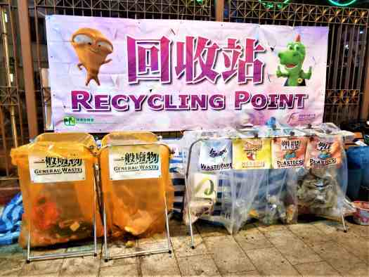 reclycling-point-at-cny-flower-market