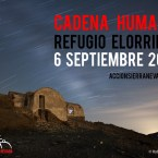 Cadena Humana al Refugio Elorrieta el 6 de septiembre