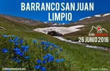 Autorizada la Acción Barranco de San Juan limpio del 26 de junio