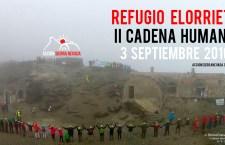 Programa de la II Cadena Humana al Refugio Elorrieta – 3 de septiembre