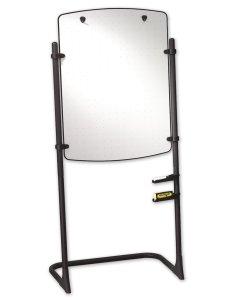 Quartet easels whiteboard silhouette total erase easel flipchart  black frame also rh