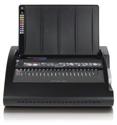swingline gbc combbind c210e electric binding machine binds 330 sheets punches 20 sheets [ 1400 x 1400 Pixel ]