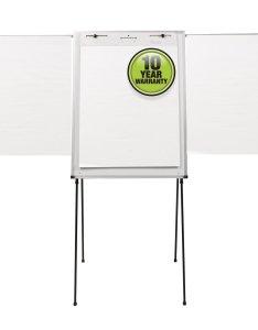 Quartet steel presentation easel total erase whiteboard flipchart  also easels rh
