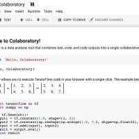 Colaboratory le nouvel outil gratuit de développement collaboratif de Google