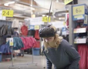 VR a decathlon