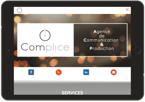 ipad complice communication site wordpress