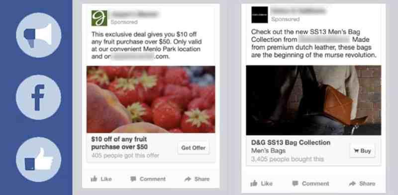 annonce publicité facebook