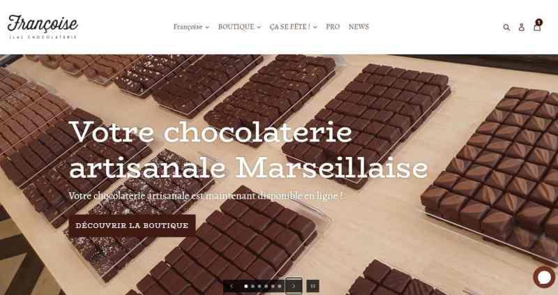 Boutique de chocolats 1