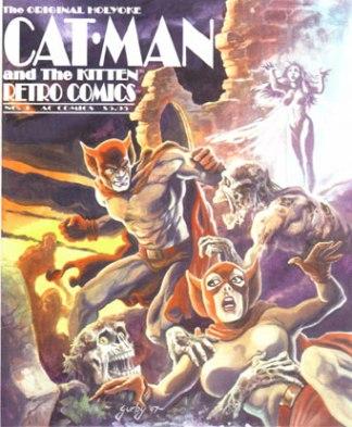 Retro Comics 3 : Cat-Man and Kitten