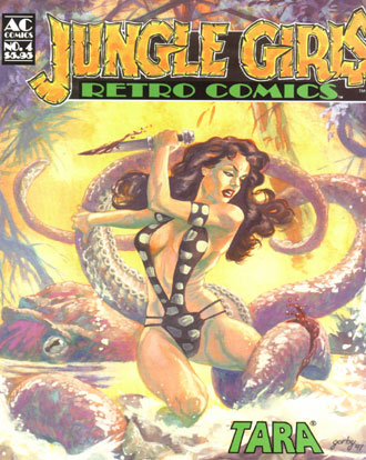 Retro Comics 4 : Jungle Girls