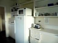 Fridge, microwave & toaster